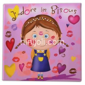 Ninijoli J'adore les Bisou fille