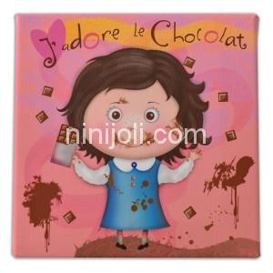 Chocolat-fille