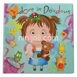 Ninijoli J'adore les Doudous fille
