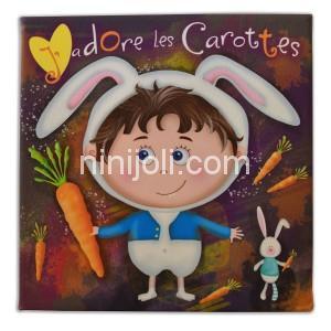 Ninijoli J'adore les carottes