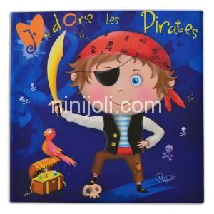 Ninijoli J'adore les Pirates