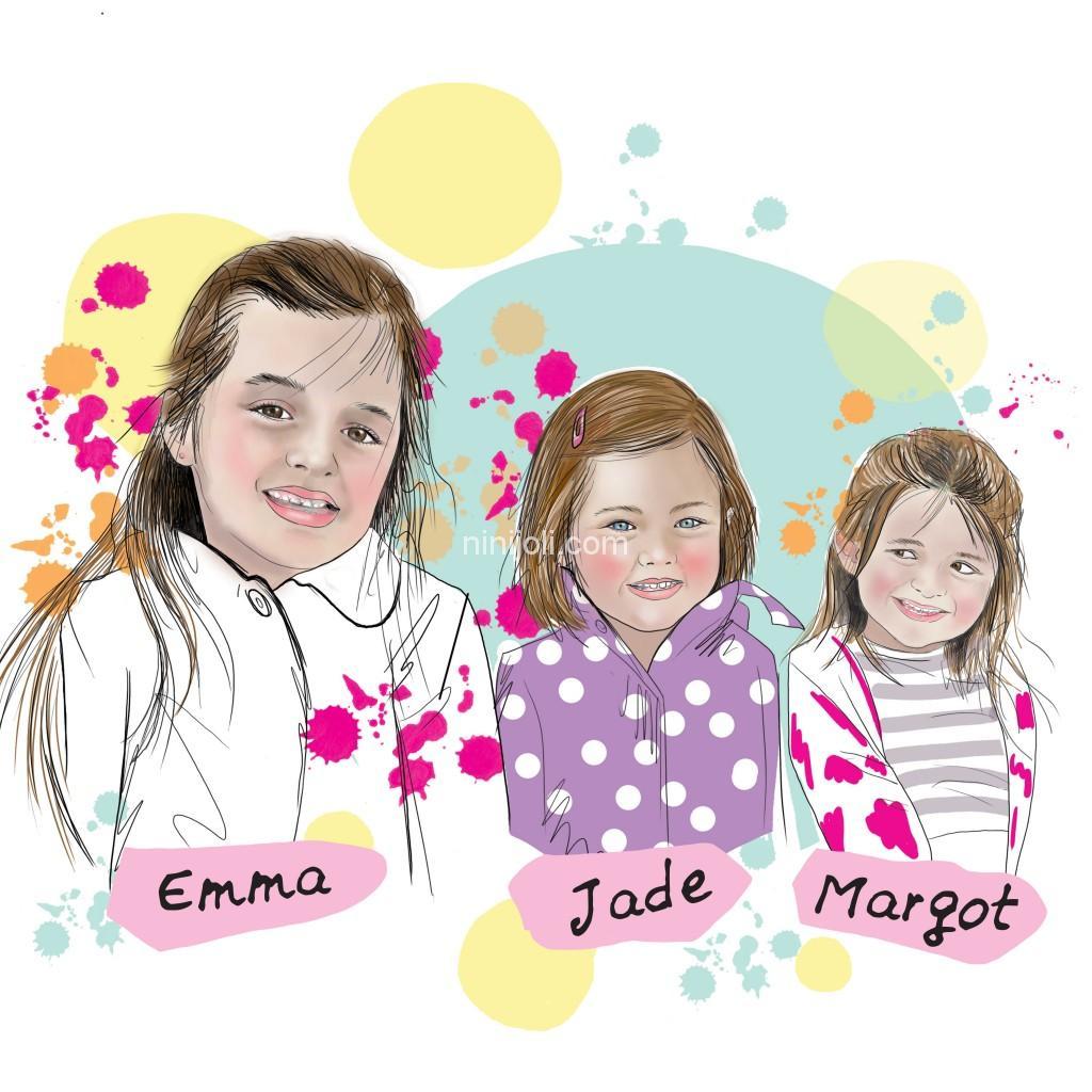 3-cousines