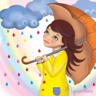 Poupée-parapluie