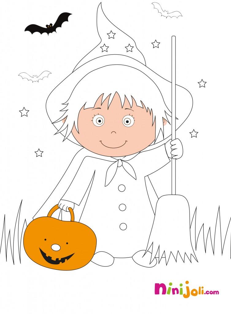 Halloween-à-colorier