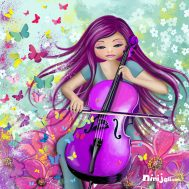 Poupee-violoncelle