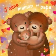 Tableau famille-ours